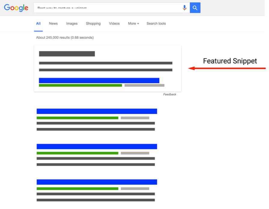 Wat zijn Google featured snippets?